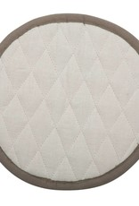 Linen Kitchen Mitt - Oyster White