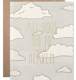 All Dogs Go To Heaven Card