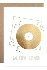 Pure Gold Dad Card