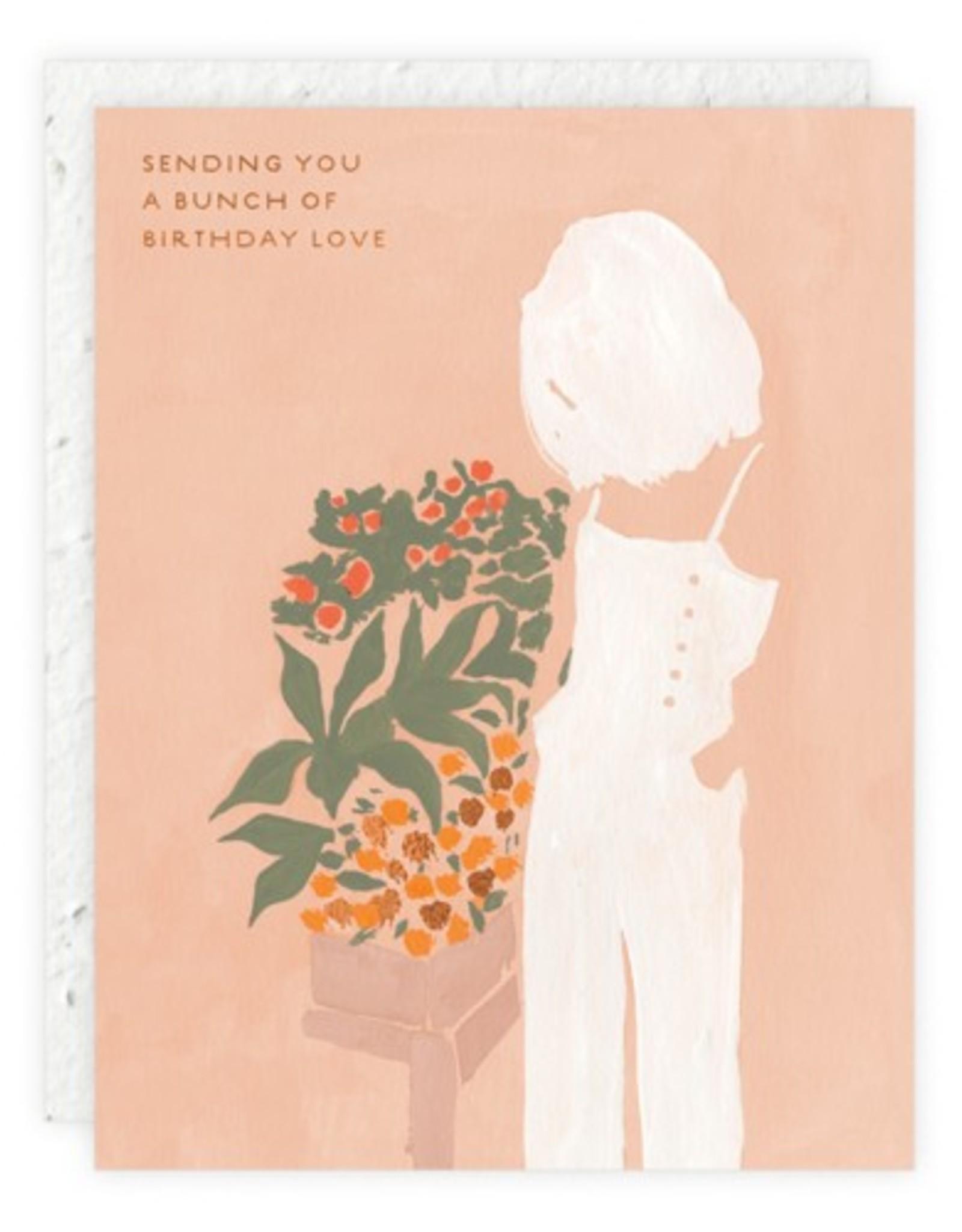 Bunch of Birthday Love Card