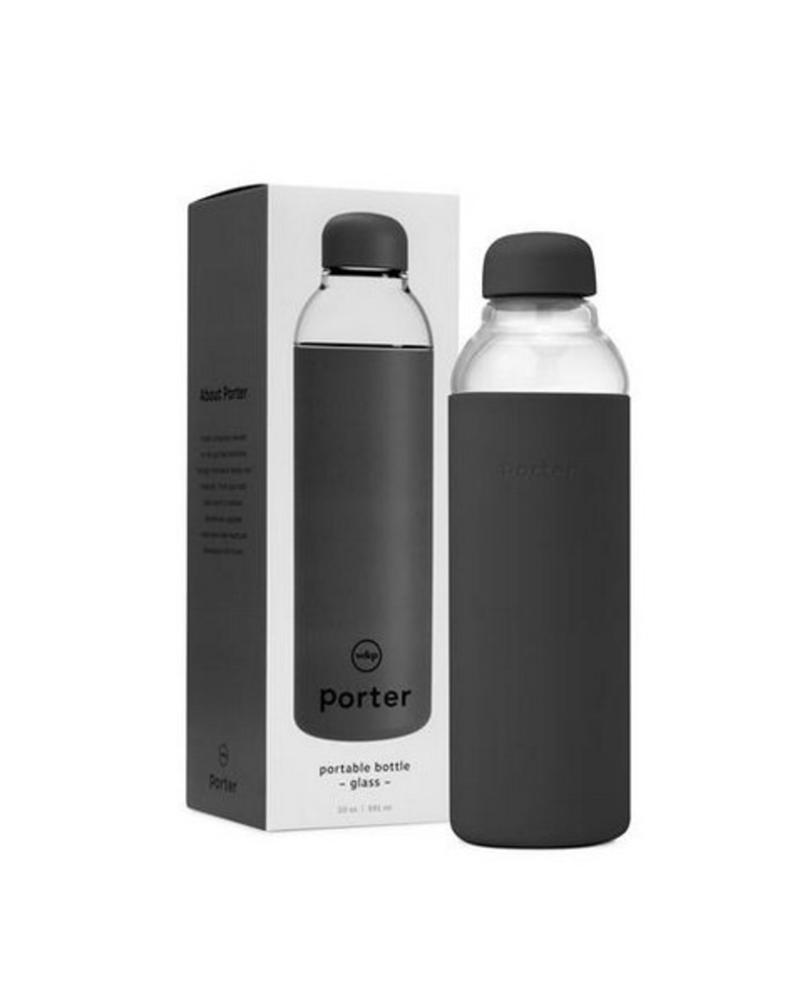 Porter Bottle - Charcoal