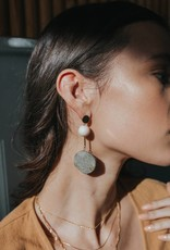 Dylan Stone Statement Earrings