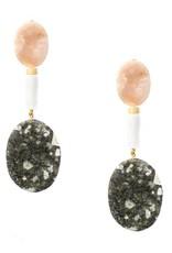 Sloane Stone Statement Earrings