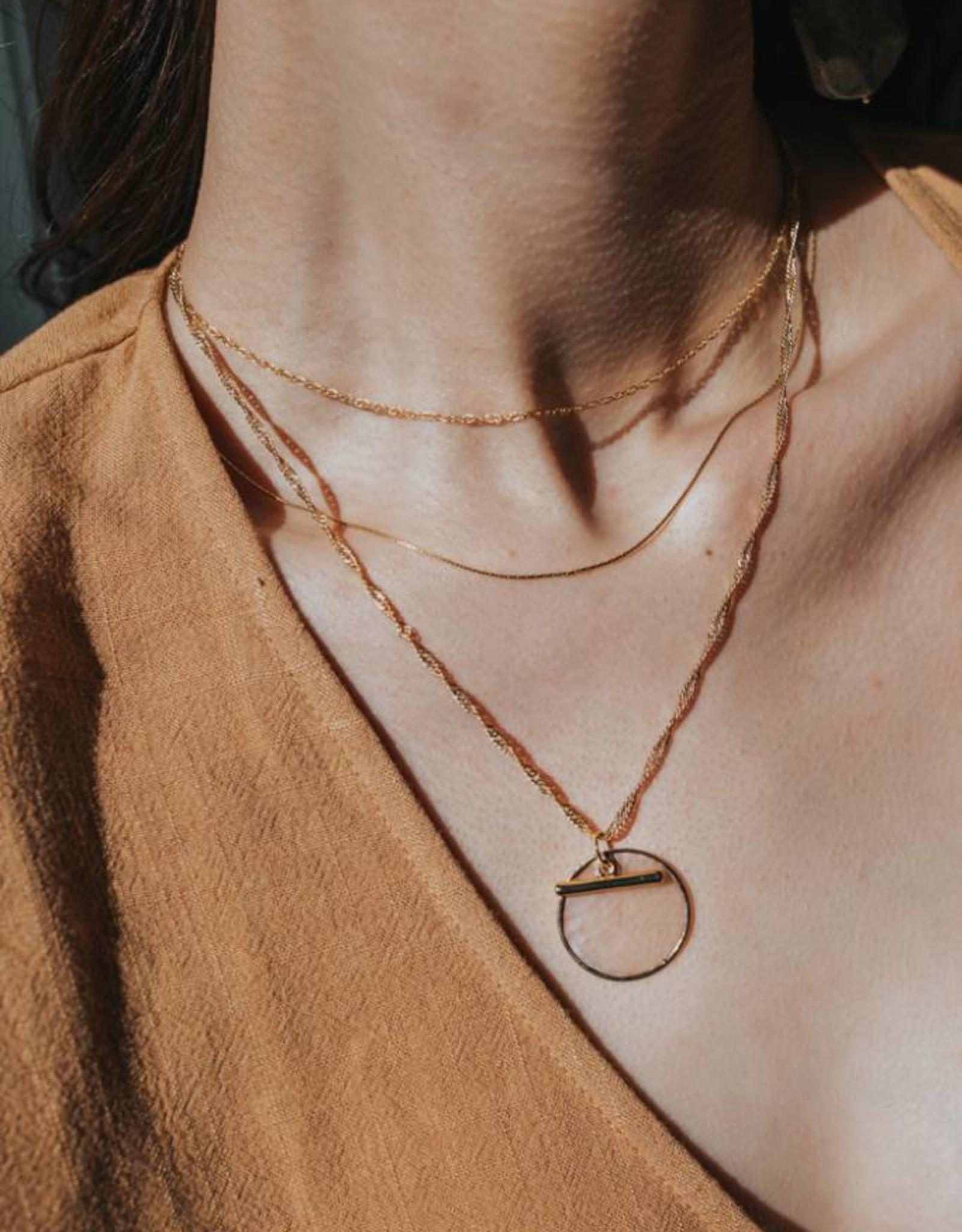 Josephine Layered Chain Necklace