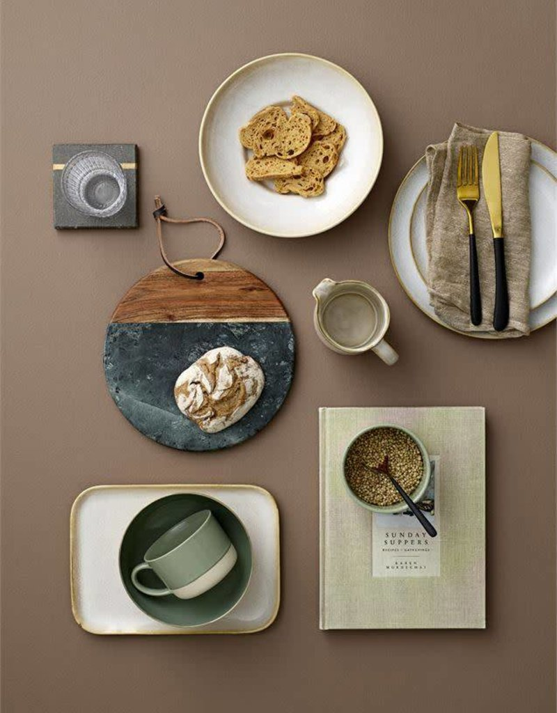 Carrie Stoneware Serving Tray