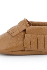 Classic Brown Genuine Leather Baby Moccasins - 12-18 ms