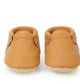 Gingersnap Fringeless Moccasins - 12-18 ms