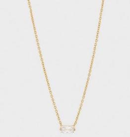 Amara Solitaire Necklace