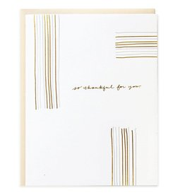 So Thankful Lines Card