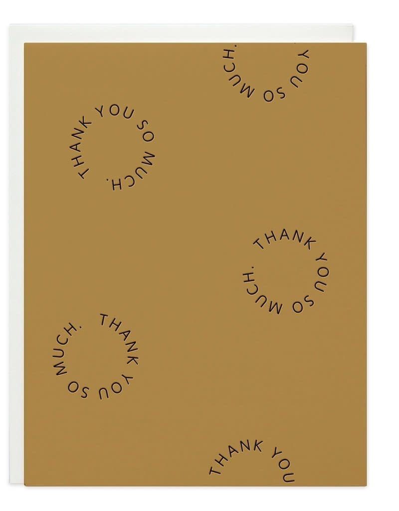 Thank You Go-Rounds Card