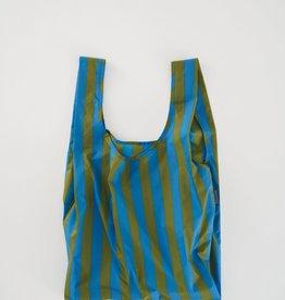 Standard Baggu - Cyan Stripe