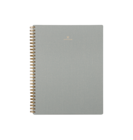 Dot Grid Workbook - Dove Gray
