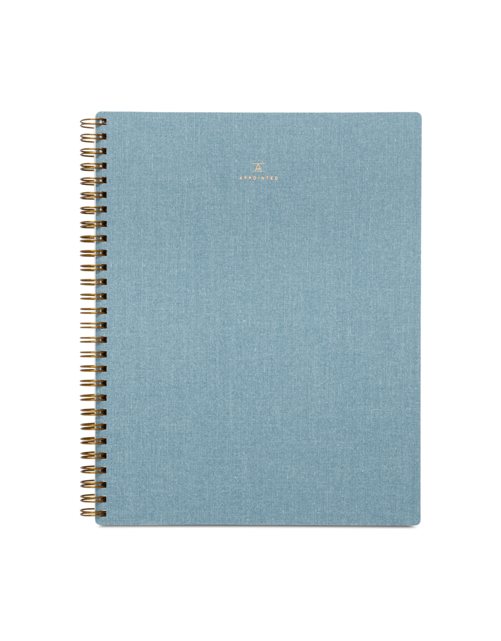 Notebook - Chambray Blue - Lined