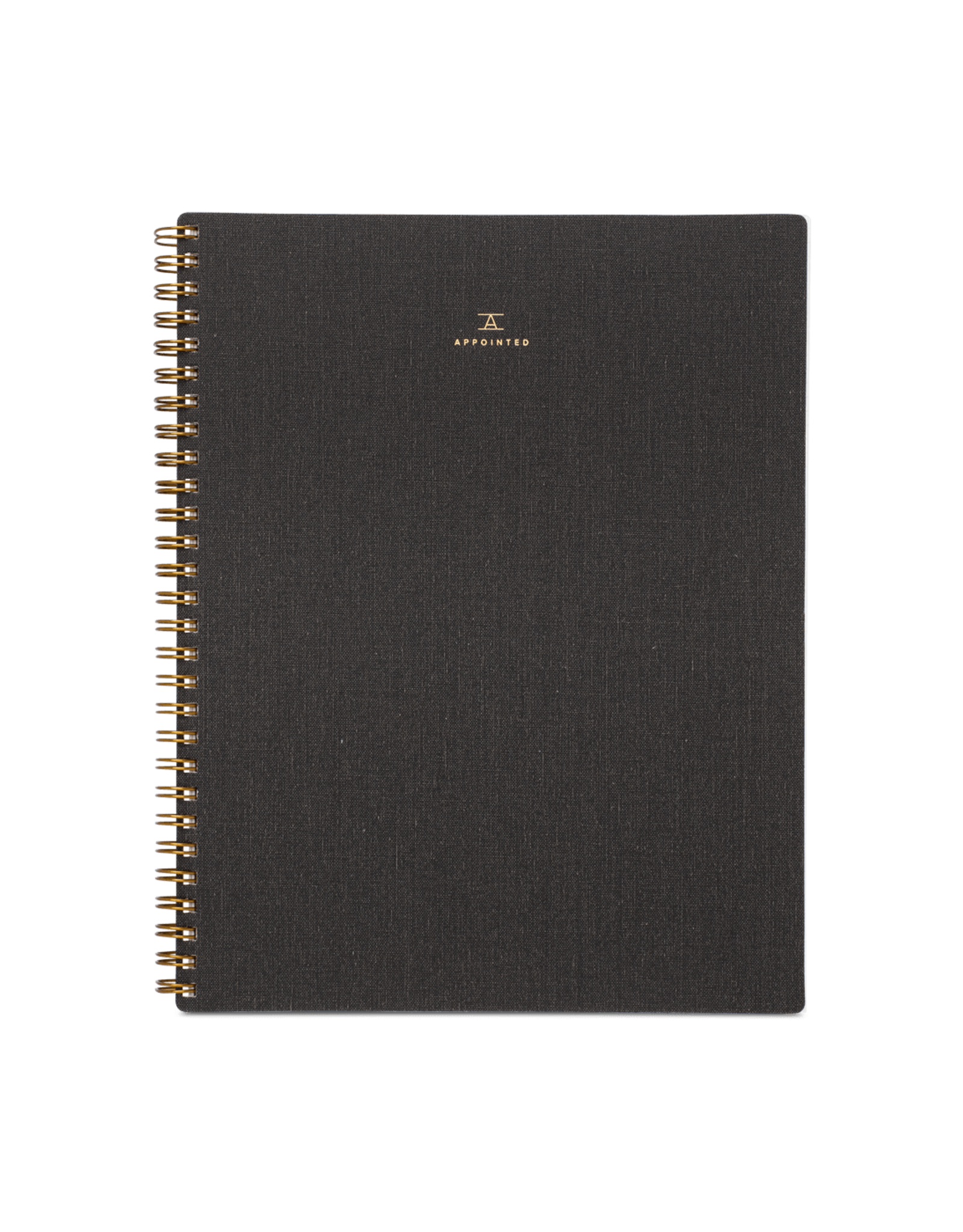 Notebook - Charcoal Gray - Lined