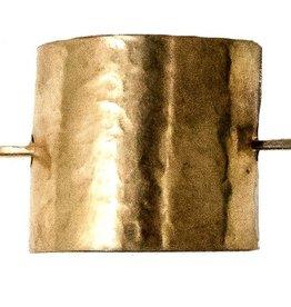 Brass Hair Cuff