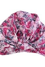 Dahlia Shower Cap - Florida Flamingo