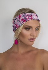 Seraphine Headband - Florida Flamingo