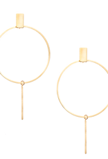 Carmen Minimal Drop Earrings