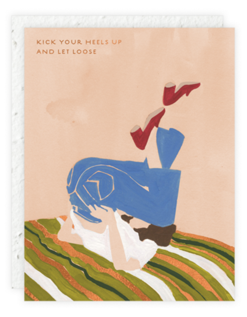 Kick Your Heels Up Card