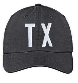 TX Baseball Cap - Black