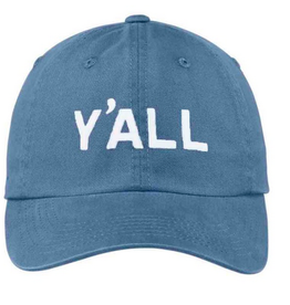 Y'all Baseball Cap - Navy