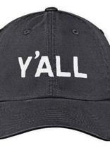 Y'all Baseball Cap - Black