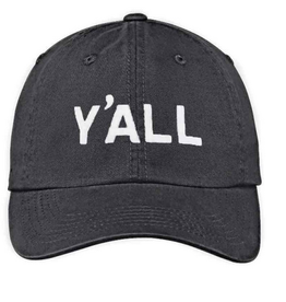 Y'all Baseball Cap - Black