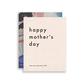 Mom's Favorite Card