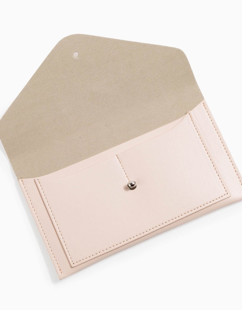 Envelope Wallet - Pale Blush