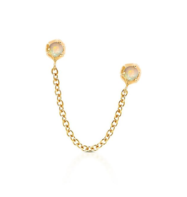 Nadia Double Stud Earring - Single
