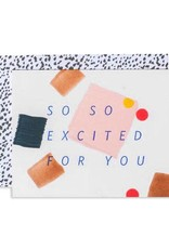 So Excited Confetti Card