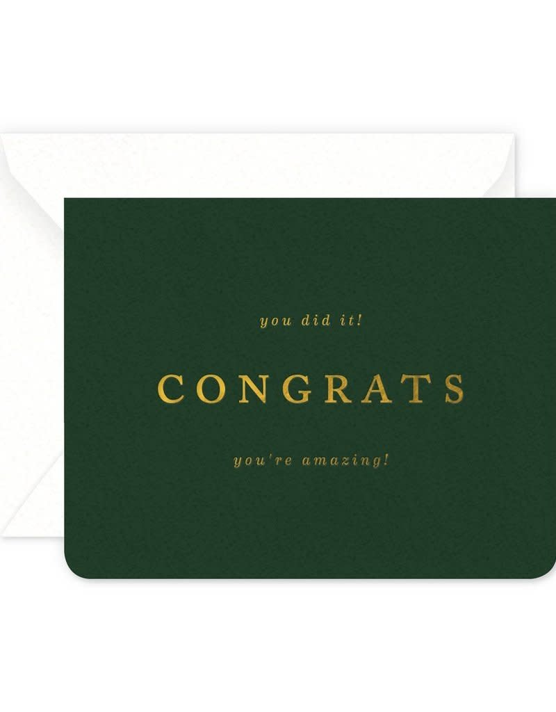 Amazing Congrats Card