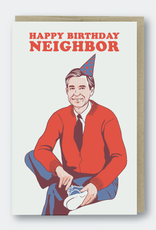 Happy Birthday Neighbor Card