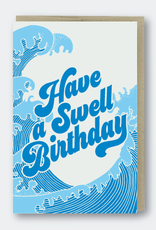 Swell Birthday Card