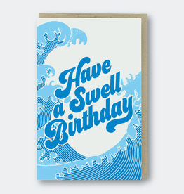 Swell Birthday Card