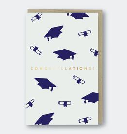 Congrats Grad Caps Card