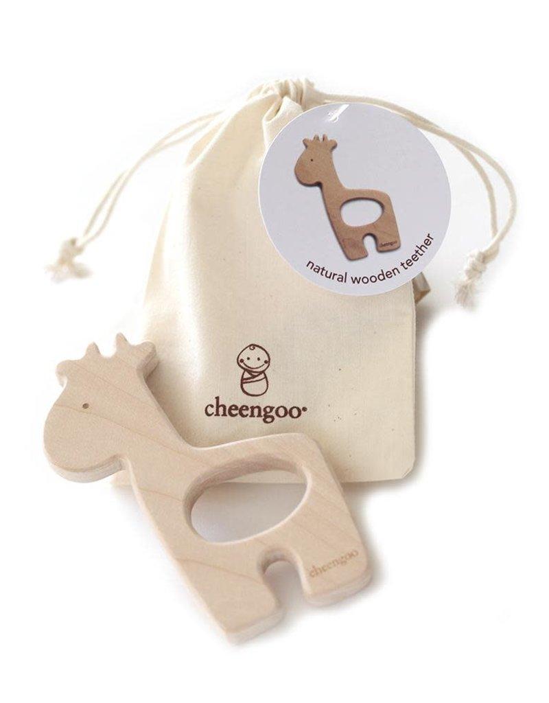Giraffe Wooden Teether