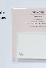 A Little Note Set