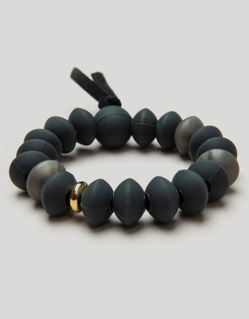 Charcoal Teething Bracelet - Small
