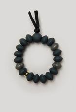 Charcoal Teething Bracelet - Medium