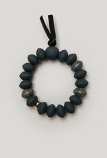 Charcoal Teething Bracelet - Large