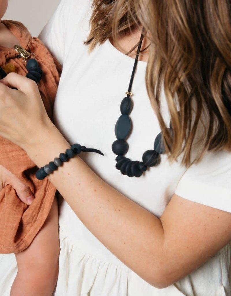 Charcoal Teething Bracelet - Large