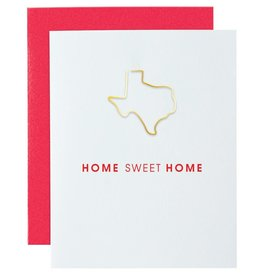 Home Sweet Home Paper Clip Card