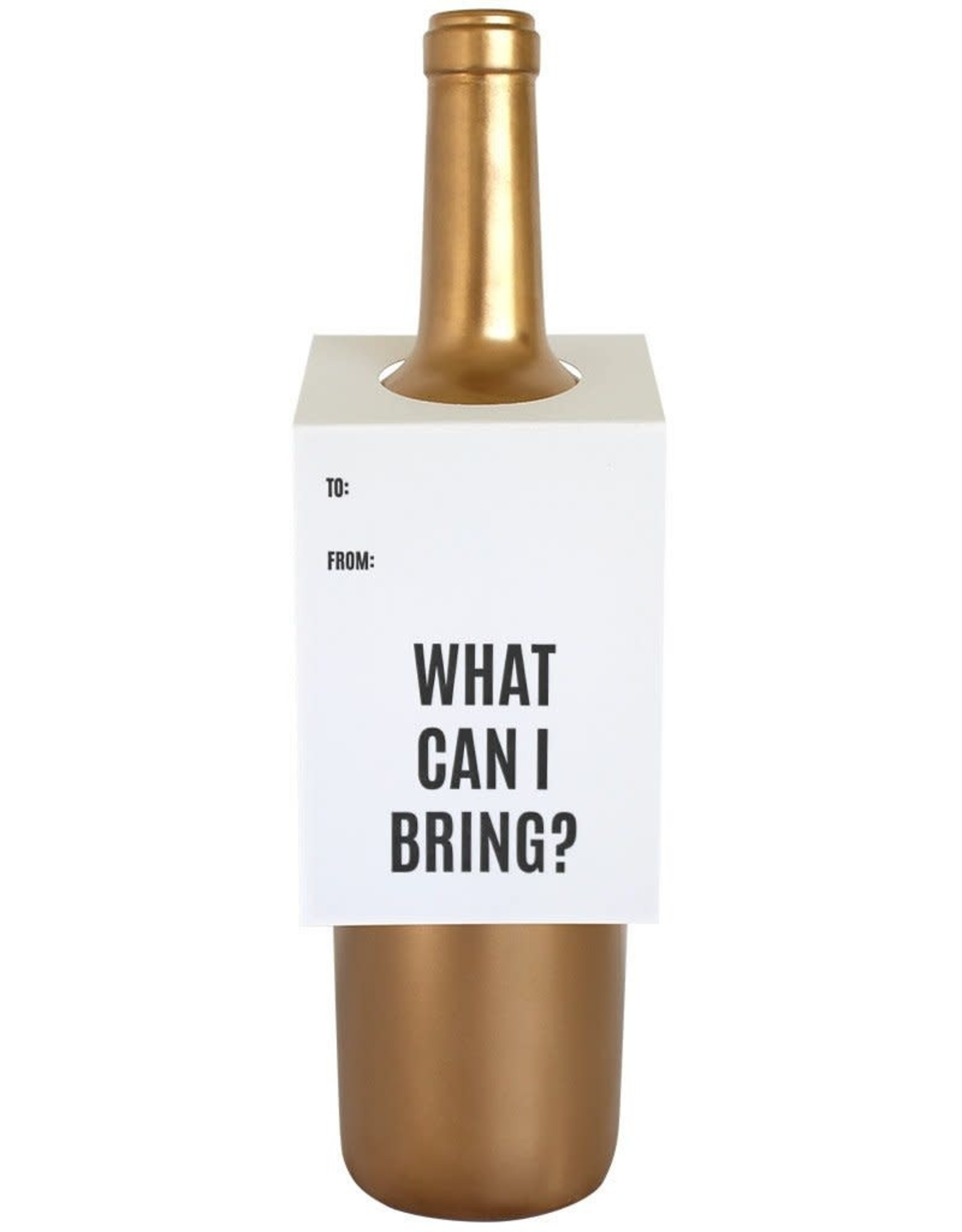 What Can I Bring? Wine Tag - Single