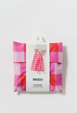 Standard Baggu - Big Check Magenta