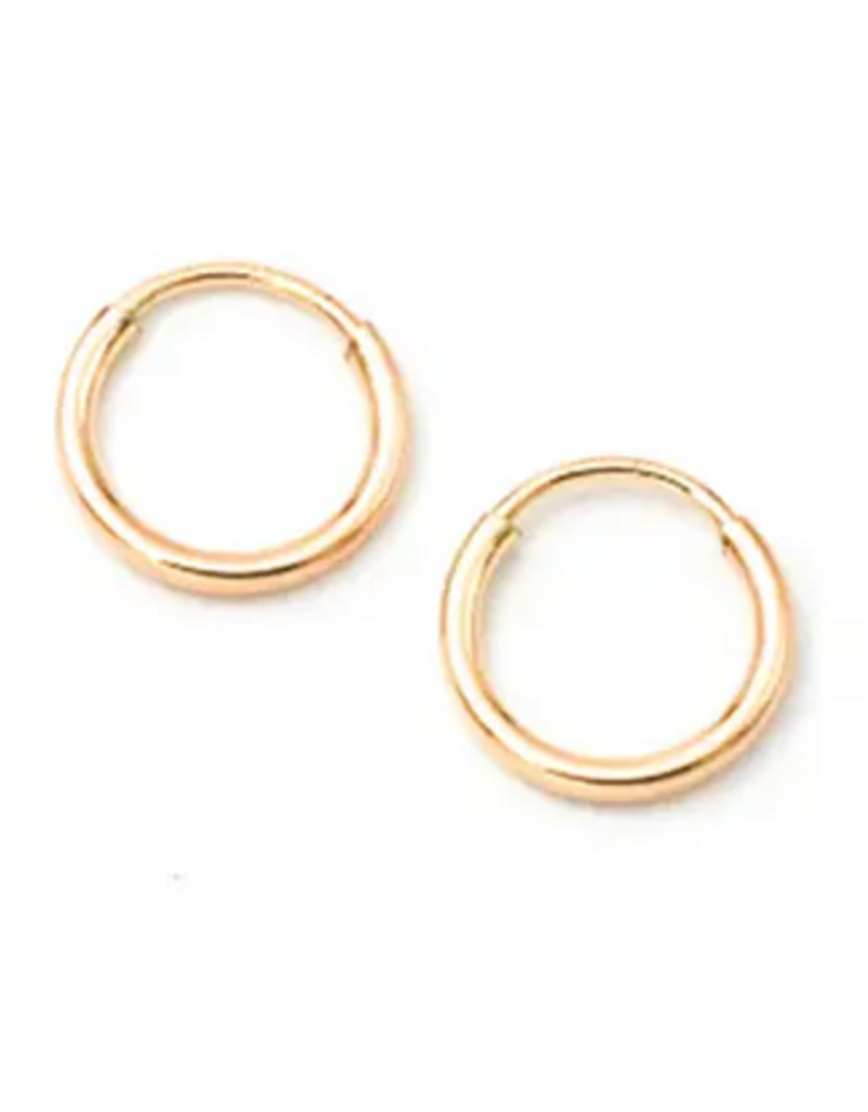 Petite Hoops - Gold Filled - 9mm
