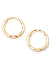 Petite Hoops - Gold Filled - 12mm