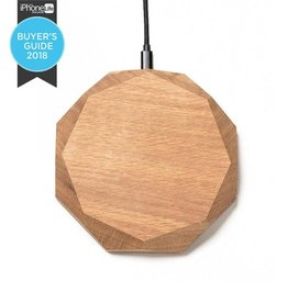Wireless Charger - Oak
