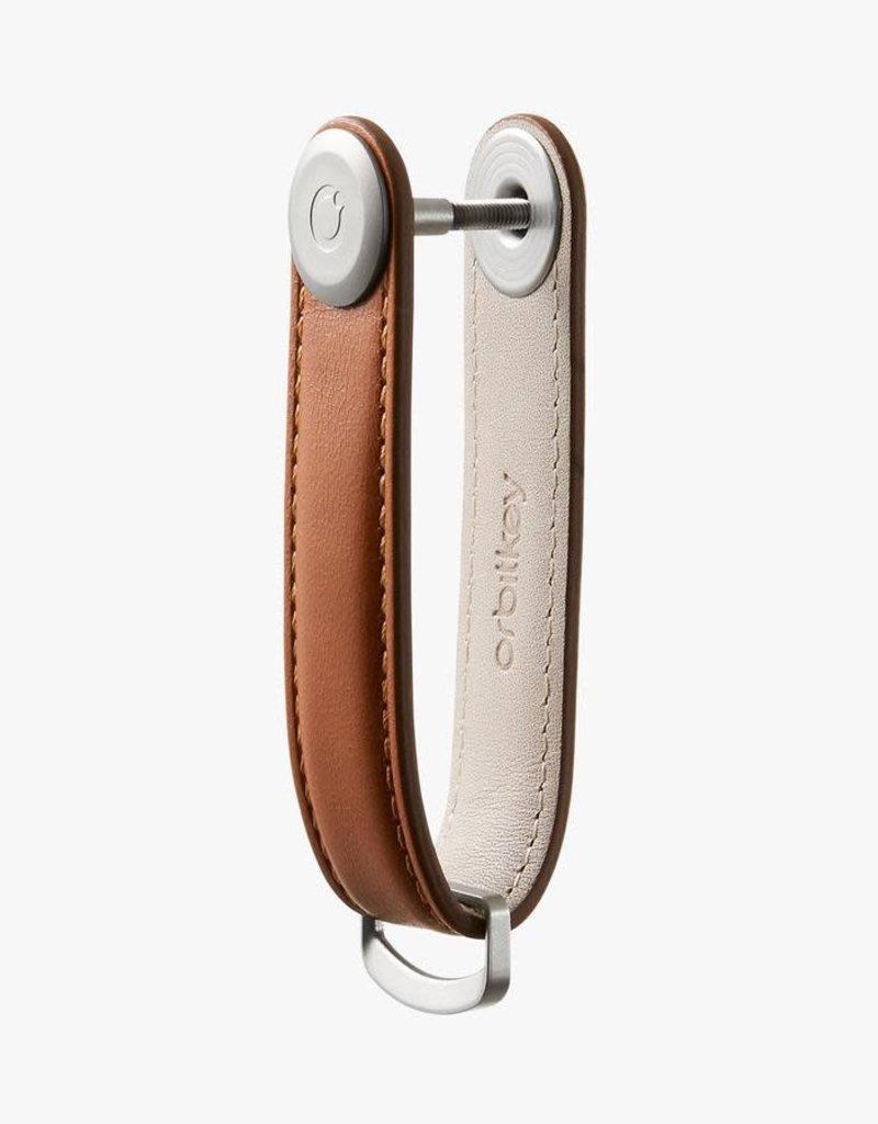 Orbitkey - Leather - Cognac/Tan