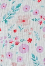 Cotton Muslin Swaddle Single - Morning Glory